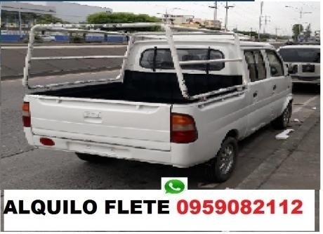 yes yes yes camioneta flete pequeñas mudanzas solo guayaquil