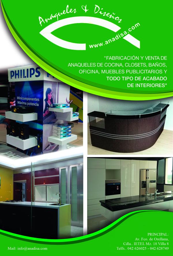 • ANAQUELES Y DISEÑOS • Guayaquil • Guayas • http   www.anadisa.com b0b42132da13