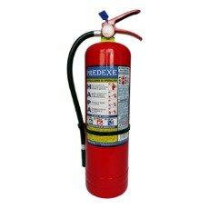 Extintor recargable de 10 libras de Polvo Químico Seco PQS