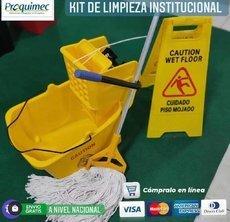 KIT INSTITUCIONAL DE LIMPIEZA