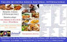 Curso De Cocina Basica Internacional Y Nacional Quito Pichincha