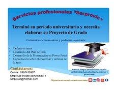 """Servicios profesionales """"Serprovic"""""""