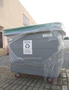 Venta de Tachos de basura industriales 1100 lts varios colores