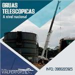 GRUA TELESCOPICA 80 TONELADAS