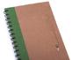 Eco-Cuadernos Ecológicos Incluye Eco-bolígrafo incrustado en la pasta.