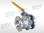 2-API 6D floating ball valve w/ ISO 5211 mounting pad
