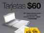 1000 Tarjetas de presentación full color laminadas mate + portatarjeta