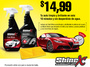 ShineX - Kit de limpieza y brillo automotriz