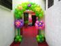 Arco Pilar de flores